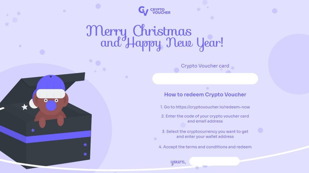 Crypto Voucher, a Thoughtful Crypto Gift for Your Loved Ones