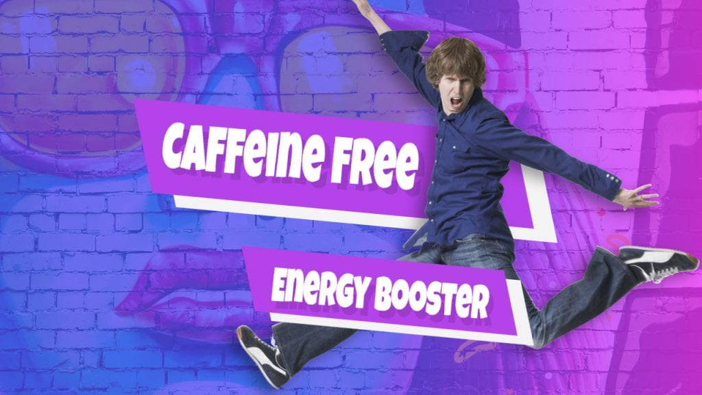 energy drinks, caffeine free