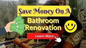 Save Money On A Bathroom Renovation