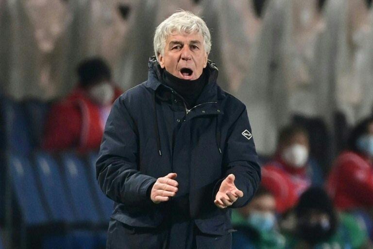 Atalanta's Gasperini thanks Guardiola, Klopp for Super League resistance