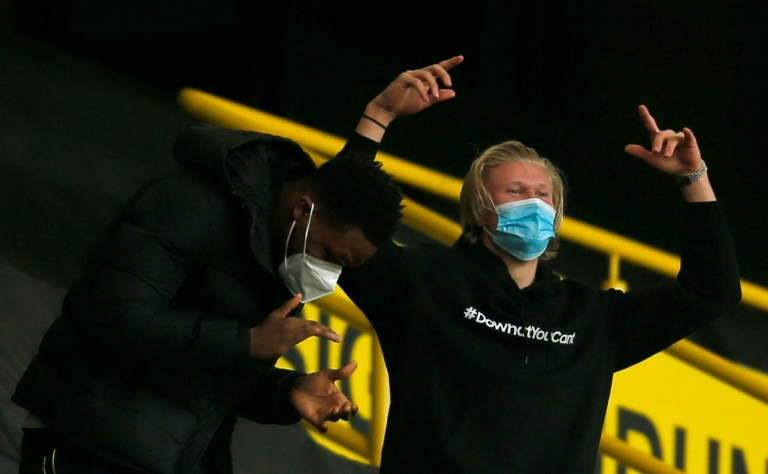 Dortmund wait on injured Haaland for German Cup final